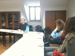 Dresden Visit at the Pillnitzer Univ. 12.2011 2