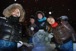 Youth Exchange:Germany:Ice wonders 02.2013 11