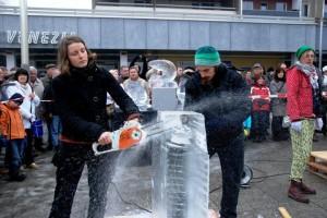 Youth Exchange:Germany:Ice wonders 02.2013 9