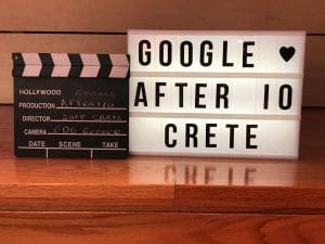 After Google I/O 2018 By the Sea – Crete