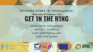 Read more about the article Ευρωπαϊκό Πρόγραμμα CROSS EUWBA – Pitching Event στη Θεσσαλονίκη