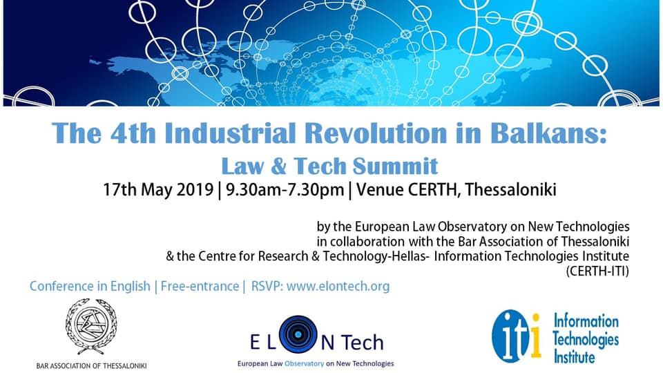 You are currently viewing The 4th Industrial Revolution in Balkans: Law & Tech Summit