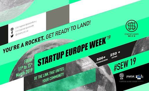Read more about the article SEW19 – Startup Europe Week 19 Θεσσαλονίκη – Closing Event – Start Right, Start Early, Start Up