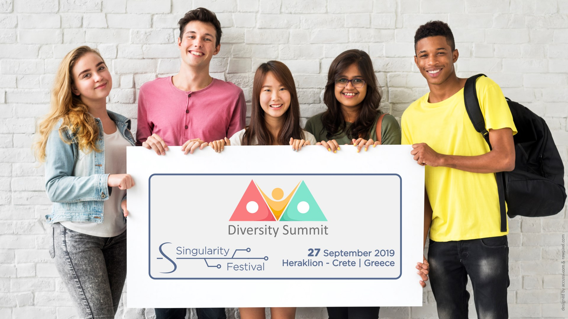 You are currently viewing Singularity Festival Week (SFW19) – Diversity Summit – Heraklion, Crete