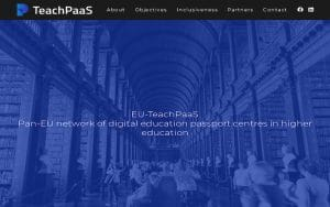 Read more about the article EU-TeachPaaS EU Project website & social media launch