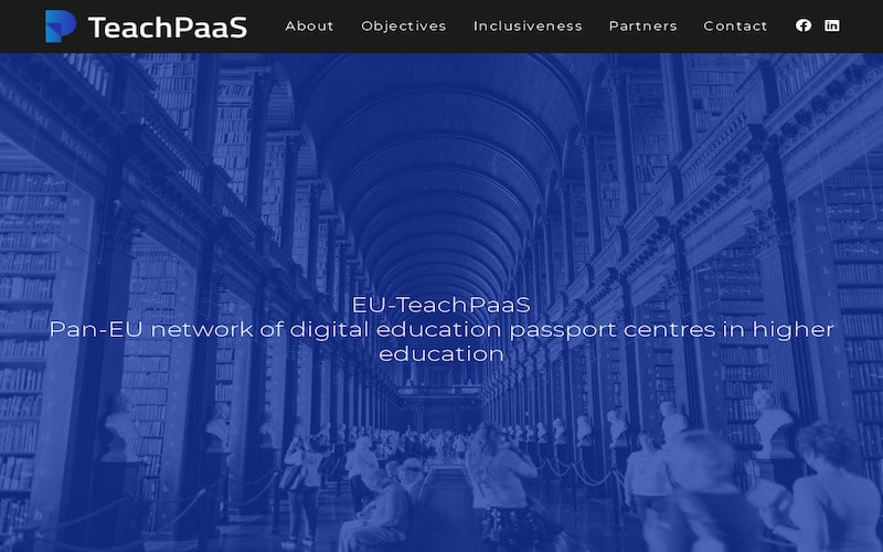 You are currently viewing EU-TeachPaaS EU Project website & social media launch