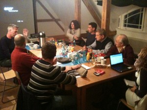 Dresden NGO meetings with Greek community 12.2011