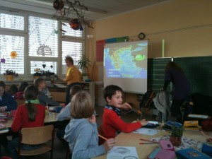 Dresden Talking about Greece in a German school 12.2011