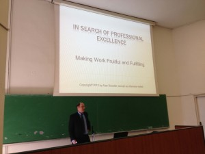 YET:Rossiter:UOM Workshop professional excellence 12.2012 1