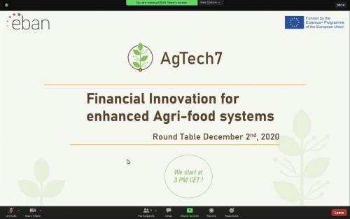 YET EBAN AgTech7 workshop 12.2020 1