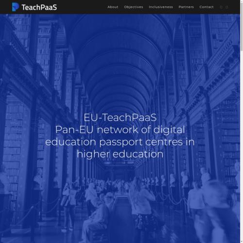 YET TeachPaaS website launch 06.2021 1