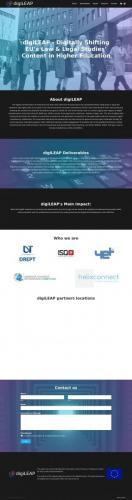 YET digiLEAP website launch 05.2021  2